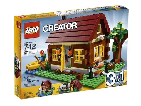 Hình ảnh bên ngoài sản phẩm Lego Creator 5766 - Log Cabin