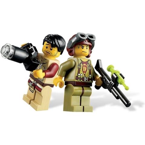 Bồ đồ chơi Lego Dino 5886 - T-Rex Hunter giúp bé phát triển kỹ năng toàn diện hơn