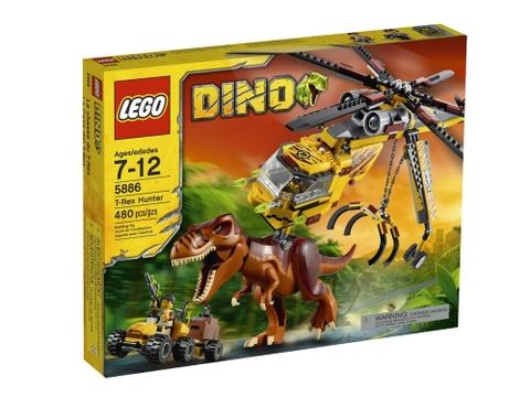 Vỏ hộp Lego Dino 5886 - T-Rex Hunter