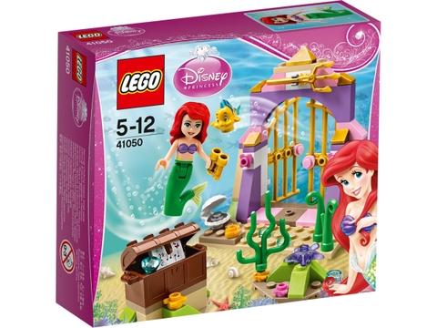 Vỏ hộp sản phẩm Lego Disney Princess 41050 - Kho Báu Nàng Tiên Cá