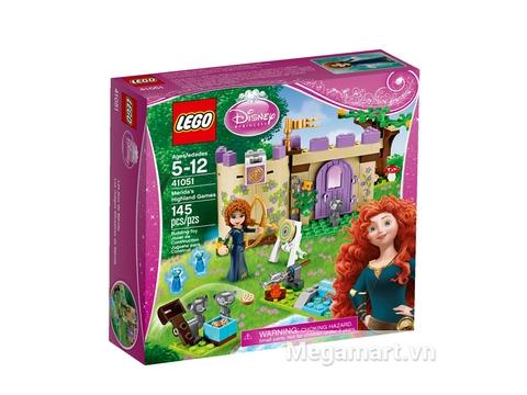 Hình ảnh vỏ hộp bên ngoài sản phẩm Lego Disney Princess 41051 - Trò chơi của Merida