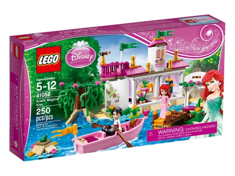Thiết kế vỏ hộp bộ đồ chơi Lego Disney Princess 41052 - Phép Màu Nàng Tiên Cá