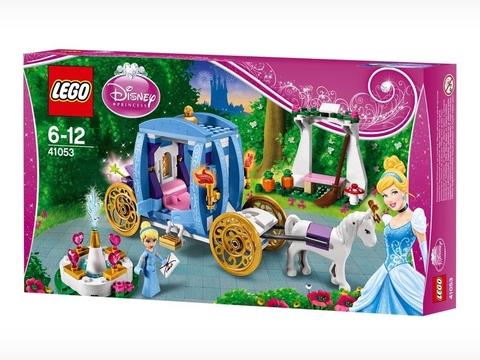 Hình ảnh vỏ hộp bộ đồ chơi Lego Disney Princess 41053 - Xe Ngựa Của Lọ Lem