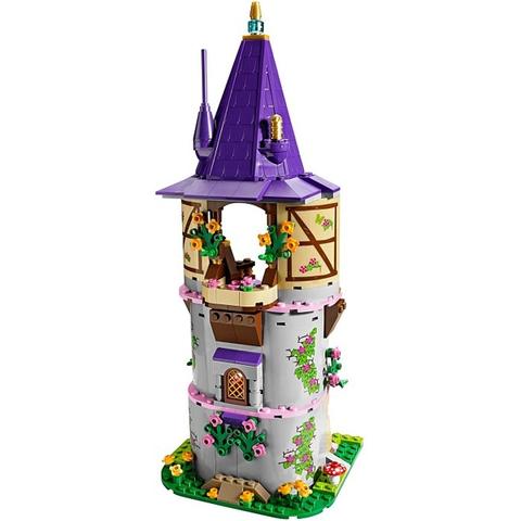 Bộ xếp hình Lego Disney Princess 41054 - Tháp Sáng Tạo của Rapunzel với 229 mảnh ghép đáng yêu