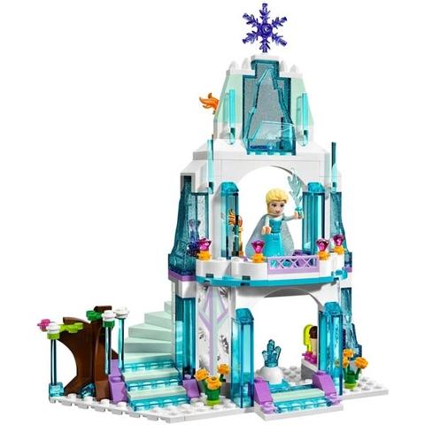 Lego Disney Princess 41062 - Lâu Đài Băng Của Elsa - tòa lâu đài băng giá