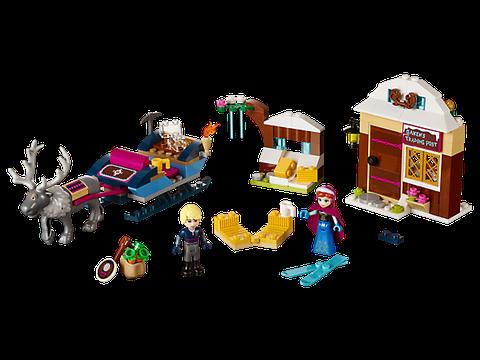 Lego Disney Princess 41066 - Xe Kéo Phiêu Lưu Của Anna Và Kristoff