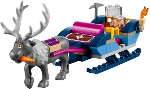 Các mô hình ấn tượng trong bộ Lego Disney Princess 41066 - Xe Kéo Phiêu Lưu Của Anna Và Kristoff