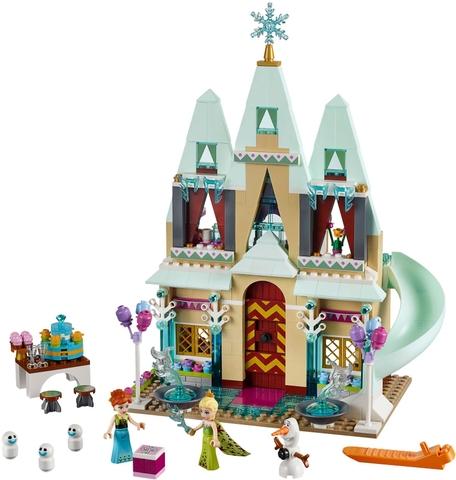 Các mô hình ấn tượng trong bộ Khám pháLego Disney Princess 41068 - Lâu Đài Vương Quốc Arendelle