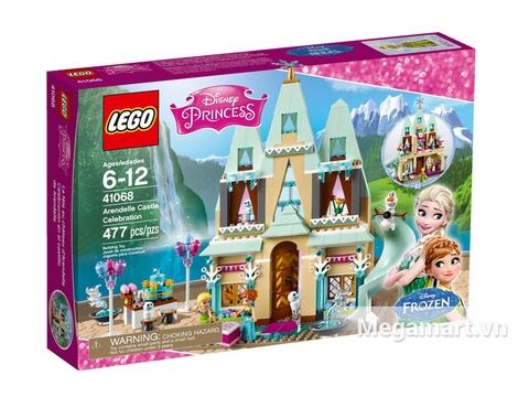 Hình ảnh vỏ hộp bộ Khám pháLego Disney Princess 41068 - Lâu Đài Vương Quốc Arendelle