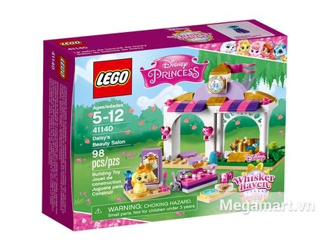 Hình ảnh vỏ hộp bộ Lego Disney Princess 41140 - Salon Làm Đẹp Của Daisy