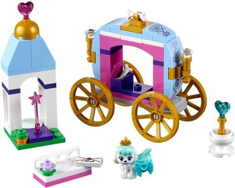 Lego Disney Princess 41141 - Xe Kéo Hoàng Gia Của Pumpkin - các chi tiết tháo rời