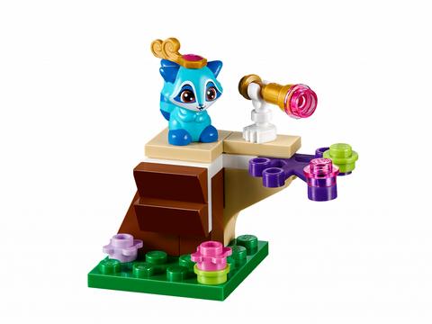 Lego Disney Princess 41142 - Lâu Đài Hoàng Gia Của Thú Cưng - chú mèo xanh lạ mặt trong lâu đài