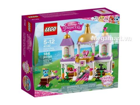 Hình ảnh vỏ hộp bộ Lego Disney Princess 41142 - Lâu Đài Hoàng Gia Của Thú Cưng