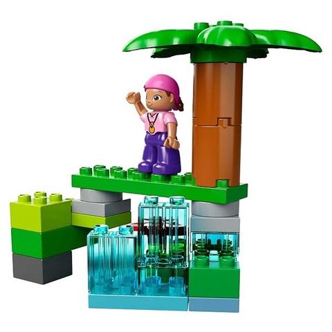 Nhân vật xuất hiện trong bộ Lego Duplo 10513 - Hòn Đảo Huyền Bí