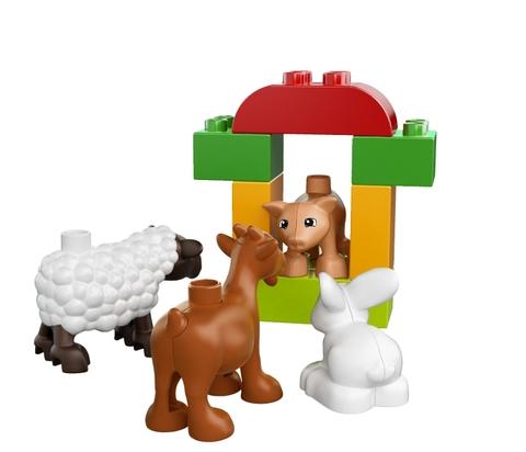 Lego Duplo 10522 - Động Vật Nông Trại với các mảnh ghép kích thước lớn an toàn với trẻ