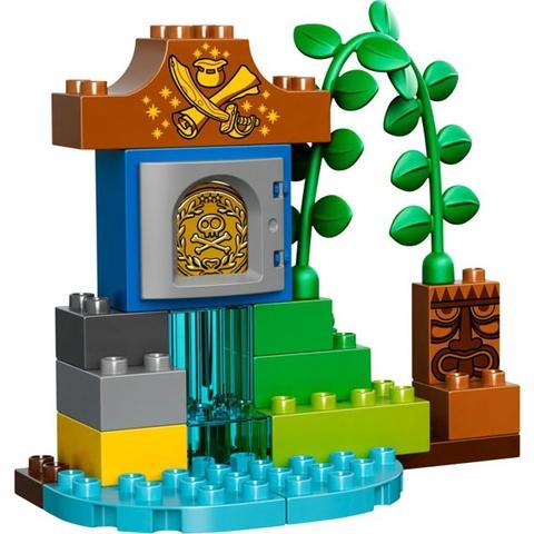 Các mảnh ghép trong bộ Lego Duplo 10526 - Chuyến Thăm Của Peter Pand có kích thước lớn