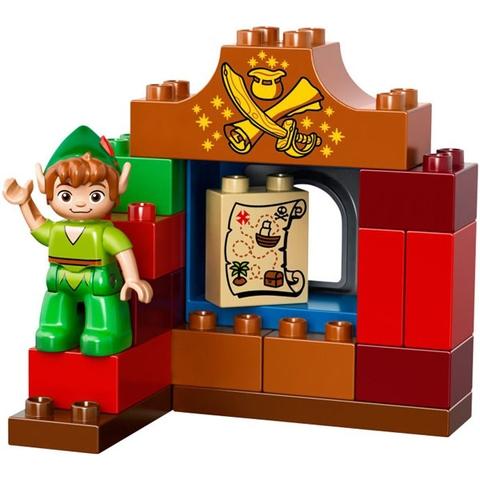 Lego Duplo 10526 - Chuyến Thăm Của Peter Pand với các chi tiết nổi bật