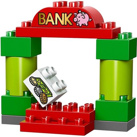 Các mảnh ghép trong bộ Lego Duplo 10532 - Bộ Lắp Ráp Chủ Đề Cảnh Sát Đầu Tiên đều có kích thước lớn