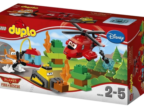 Vỏ hộp Lego Duplo 10538 - Máy Bay Cứu Hộ