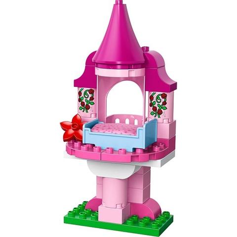 Các chi tiết trong bộ Lego Duplo 10542 - Người Đẹp Ngủ Trong Rừng kích thước lớn