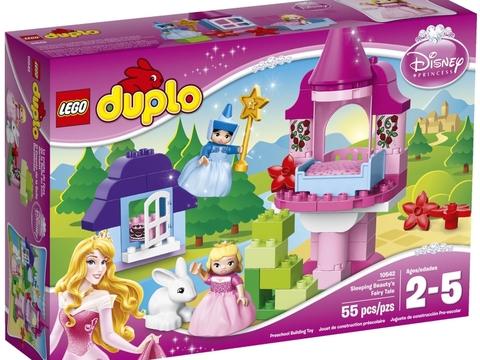 Vỏ hộp Lego Duplo 10542 - Người Đẹp Ngủ Trong Rừng