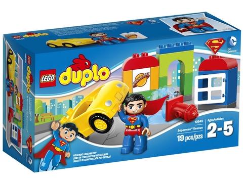 Vỏ sản phẩm Lego Duplo 10543 - Siêu Nhân Giải Cứu giảm giá