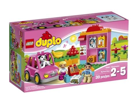Vỏ hộp Lego Duplo 10546 - Cửa Hàng Đầu Tiên