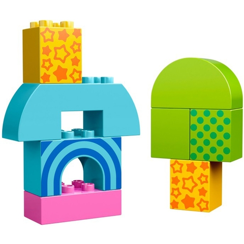 Bộ Lego Duplo 10561 - Mô hình lắp ráp Toddler Starter Building Set với các mảnh ghép kích thước lớn