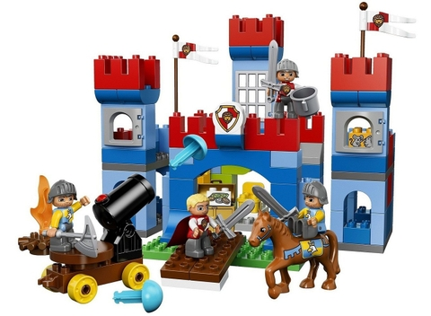 Các mảnh ghép có trog bộ xếp hình Lego Duplo 10577 - Lâu Đài Hoàng Gia