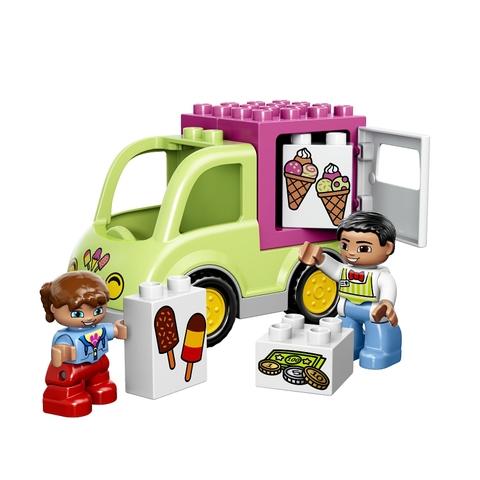 Mô hình Lego Duplo 10586 - Xe Kem xinh xắn