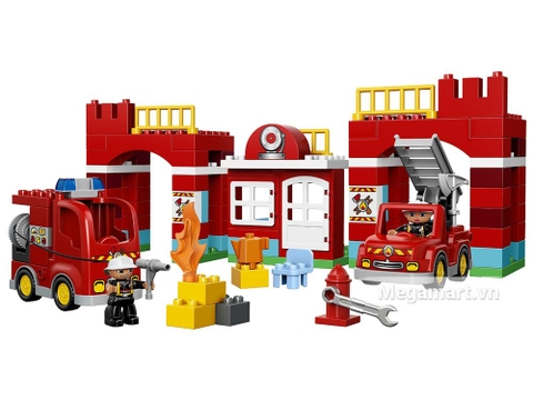 Nhân viên cứu hỏa xuất hiện trong bộ Lego Duplo 10593 - Trạm cứu hỏa