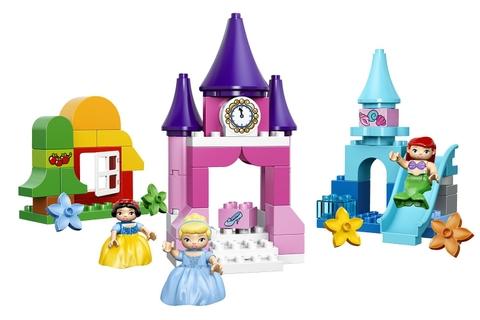 Các mô hình trong Lego Duplo 10596 - Bộ sưu tập công chúa Disney