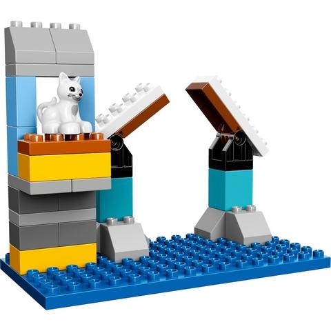 Các mảnh ghép có trong bộ xếp hình Lego Duplo 10599 - Cuộc Phiêu Lưu của Batman