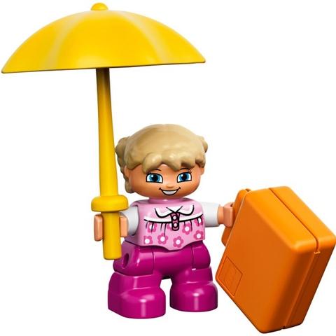 Với màu sắc bắt mắt Lego Duplo 10618 - Hộp Duplo lắp ráp sáng tạo