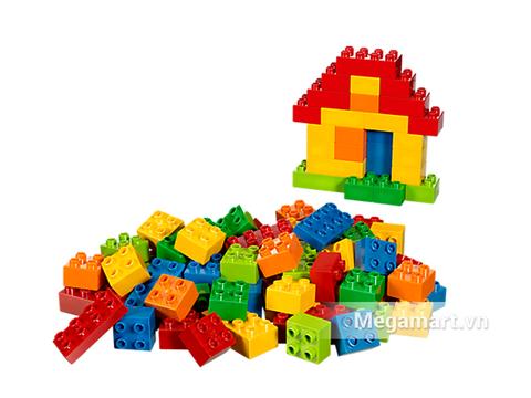 Các mô hình ấn tượng trong bộ Lego Duplo 10623 - Hộp lớn duplo cơ bản
