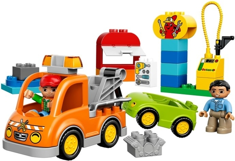 Các mô hình ấn tượng trong bộ Lego Duplo 10814 - Xe Tải Cứu Hộ