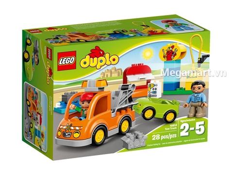 Hình ảnh vỏ hộp bộ Lego Duplo 10814 - Xe Tải Cứu Hộ