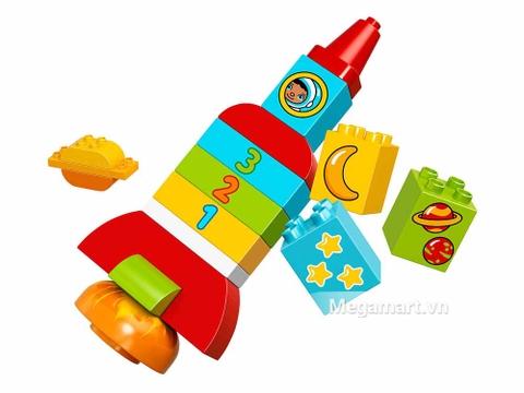 Các mô hình ấn tượng trong bộ Lego Duplo 10815 - Tên lửa học số đầu tiên của bé
