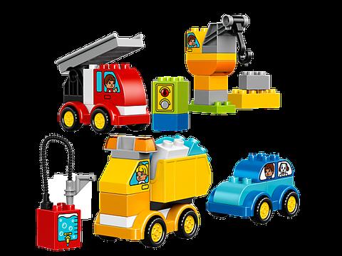 Lego Duplo 10816 có 4 mô hình ô tô cùng xuất hiện