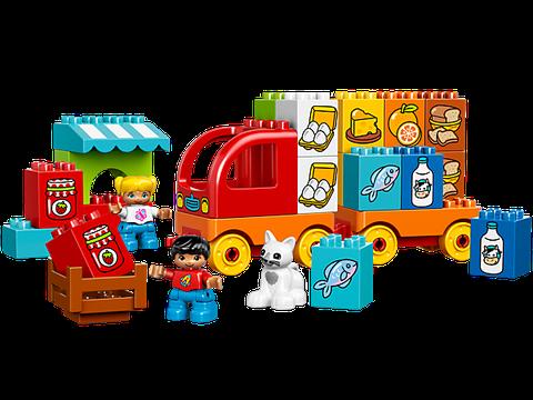 Các mô hình ấn tượng trong bộ Lego Duplo 10818 - Xe Tải Đầu Tiên Của Bé