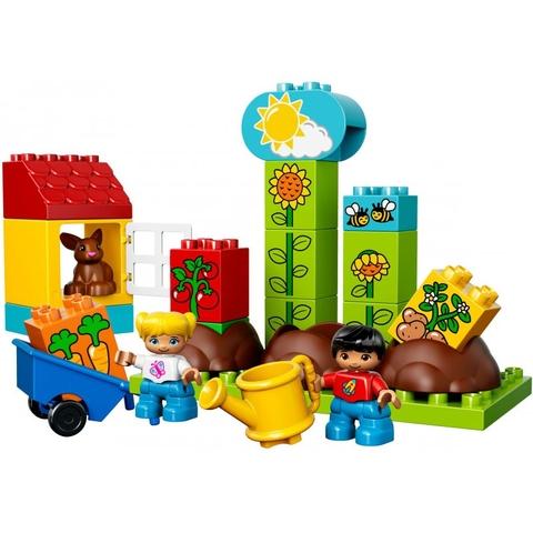 Các mô hình ấn tượng trong bộ Lego Duplo 10819 - Khu Vườn Đầu Tiên Của Bé