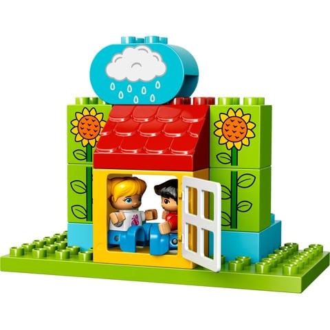 Mảnh ghép trong bộ Lego Duplo 10819 - Khu Vườn Đầu Tiên Của Bé