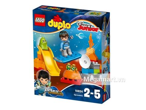 Hình ảnh vỏ hộp bộ Lego Duplo 10824 - Mile Khám Phá Không Gian