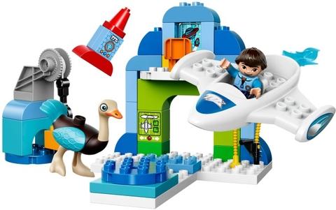 Các mô hình ấn tượng trong bộ Lego Duplo 10826 - Trạm Phi Thuyền Của Mile