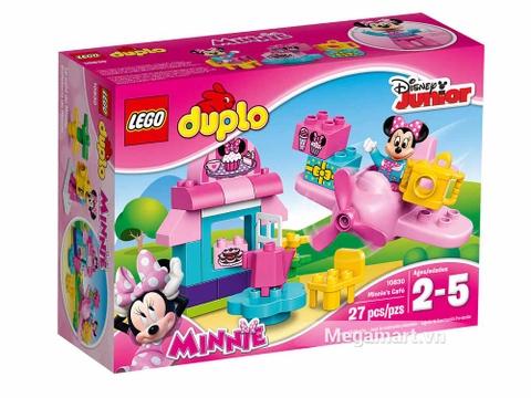 Hình ảnh vỏ hộp bộ Lego Duplo 10830 - Quán cà phê của Minnie