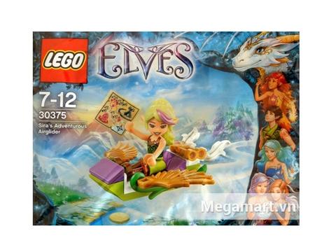 Túi đựng bên ngoài xinh xắn của bộ xếp hình Lego Elves 30375 - Tàu Lượn Của Sira
