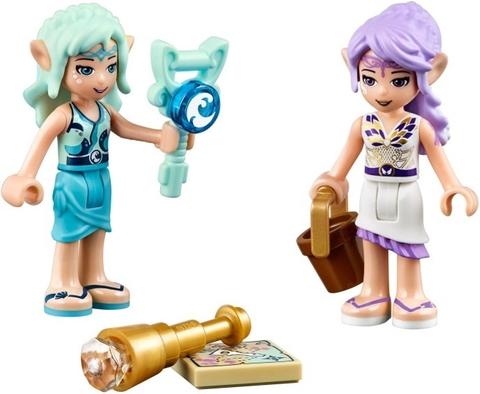Bé hãy cùng các nhân vật trong Lego Elves 41073 - Cuộc phiêu lưu của Naida khám phá đại dương nhé