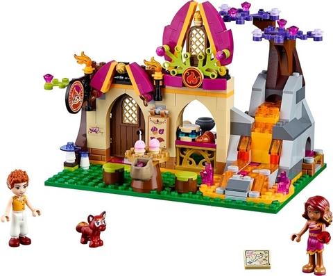 Trọn bộ các chi tiết trong bộ xếp hình Lego Elves 41074 - Azari và tiệm bánh mì ma thuật