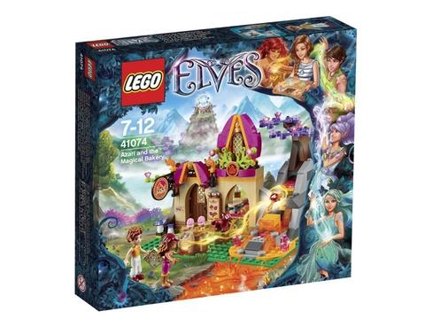 Vỏ đựng sản phẩm Lego Elves 41074 - Azari và tiệm bánh mì ma thuật