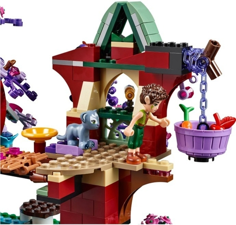 Bộ xếp hình Lego Elves 41075 - Cuộc sống bí ẩn trên cây mang đến cho bé chuyến phiêu lưu hấp dẫn